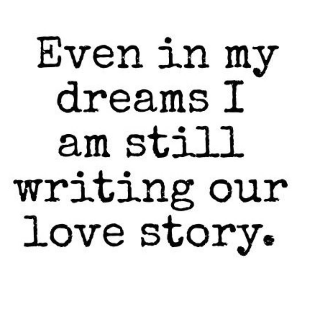 Writing my love story